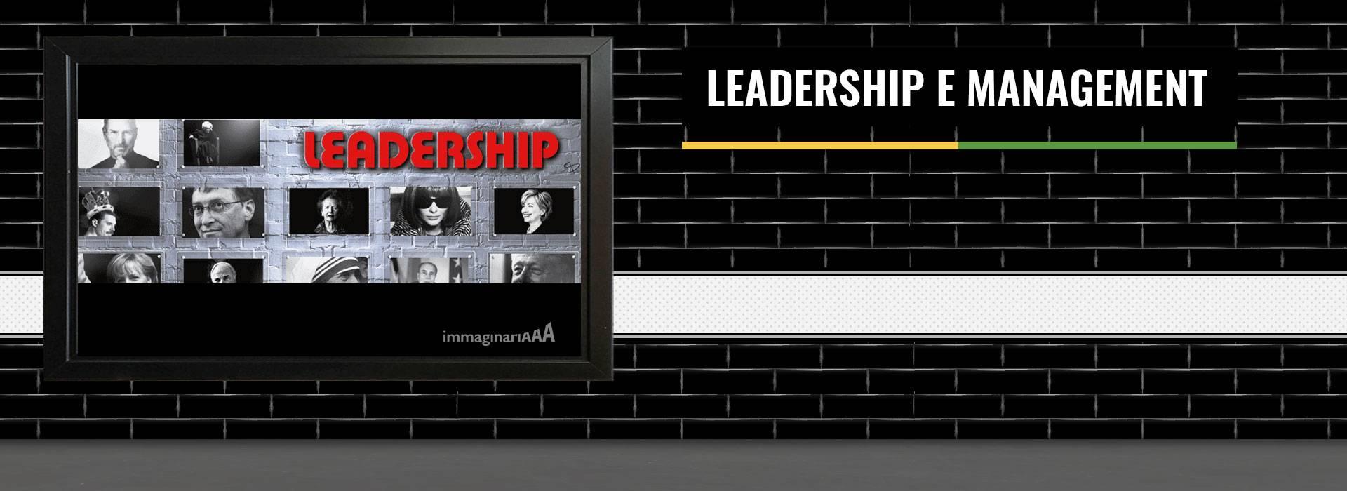 Leadership e management